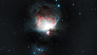 M42, Orion Nebula, Tom Elphick